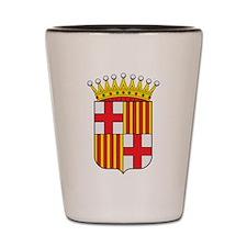 Barcelona Coat Of Arms Shot Glass