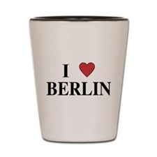 I Love Berlin Shot Glass