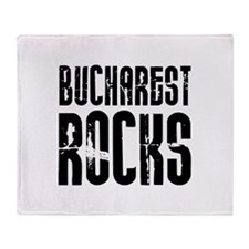 Bucharest Rocks Throw Blanket