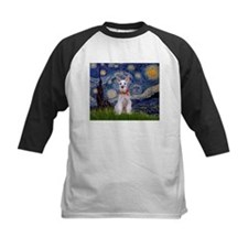 Starry Night Schnauzer Tee