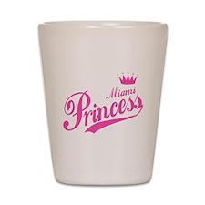 Miami Princess Shot Glass