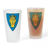 Stockholm Coat Of Arms Pint Glass