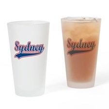Retro Sydney Pint Glass