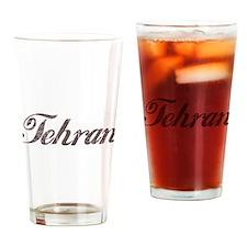 Vintage Tehran Pint Glass