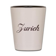 Vintage Zurich Shot Glass