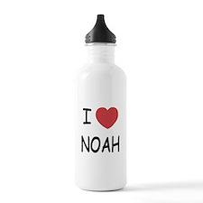 I heart noah Water Bottle