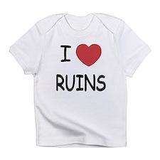 I heart ruins Infant T-Shirt