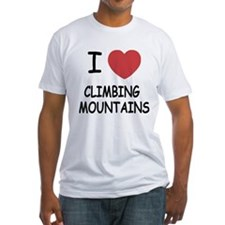 I heart climbing mountains Shirt