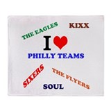 Philly Phan Shop Throw Blanket