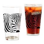 Zebra Art Pint Glass