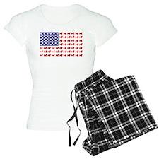 Dachshund Patriotic Flag Pajamas