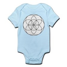 Germ Of Life Symbol Infant Bodysuit