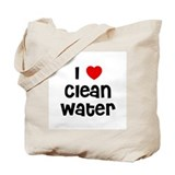 I * Clean Water Tote Bag