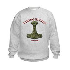 Thor's Hammer V - Viking Bloo Sweatshirt