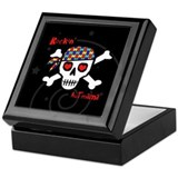 Rockin' AutMama (Blk) Keepsake Box