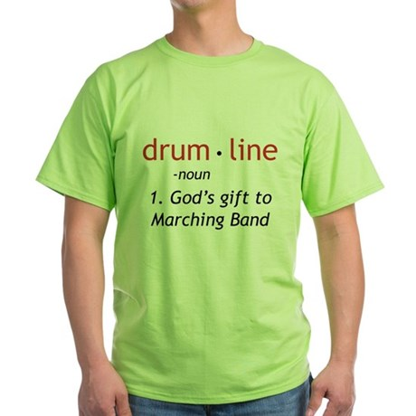 Definition of Drumline Green T-Shirt