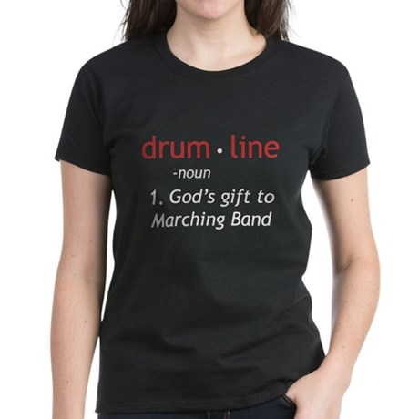 Definition of Drumline Women's Dark T-Shirt