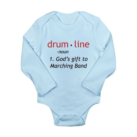 Definition of Drumline Long Sleeve Infant Bodysuit