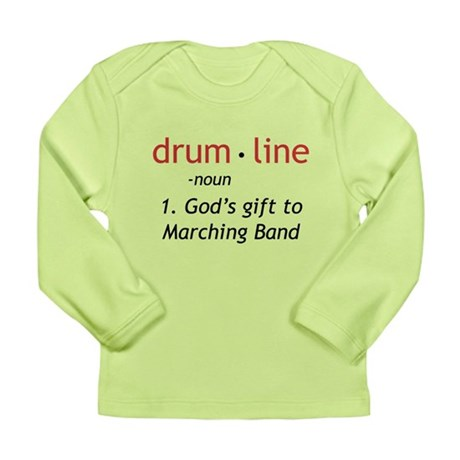 Definition of Drumline Long Sleeve Infant T-Shirt