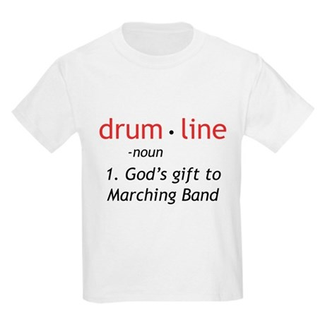 Definition of Drumline Kids Light T-Shirt