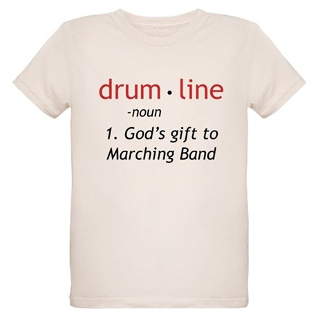 Definition of Drumline Organic Kids T-Shirt