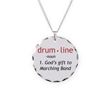 Definition of Drumline Necklace Circle Charm