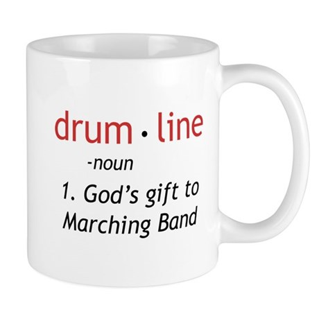 Definition of Drumline Mug