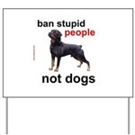 Rottweilers! Yard Sign