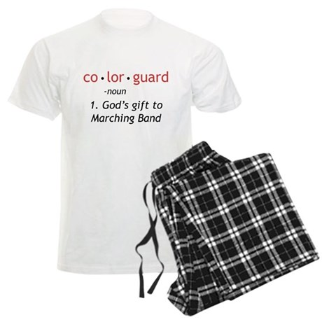 Definition of Colorguard Men's Light Pajamas