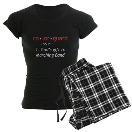 Definition of Colorguard Women's Dark Pajamas
