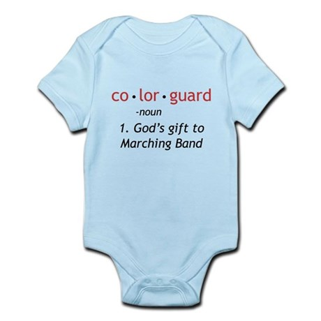 Definition of Colorguard Infant Bodysuit