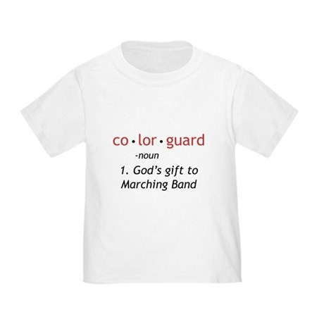 Definition of Colorguard Toddler T-Shirt