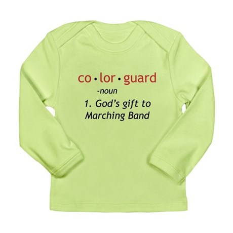 Definition of Colorguard Long Sleeve Infant T-Shir