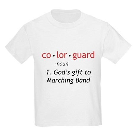 Definition of Colorguard Kids Light T-Shirt