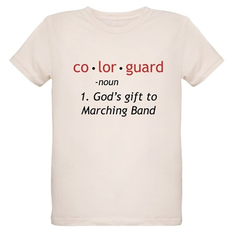 Definition of Colorguard Organic Kids T-Shirt