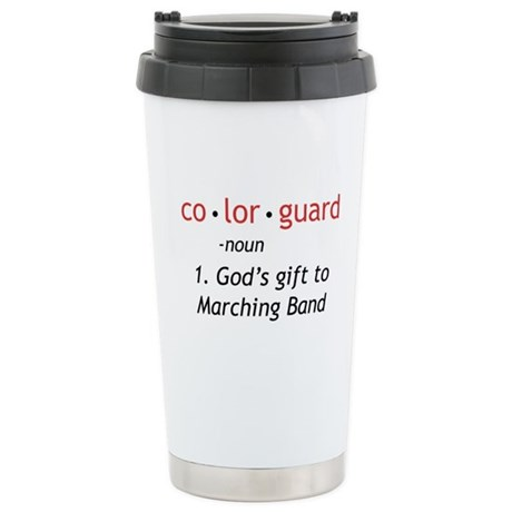 Definition of Colorguard Ceramic Travel Mug