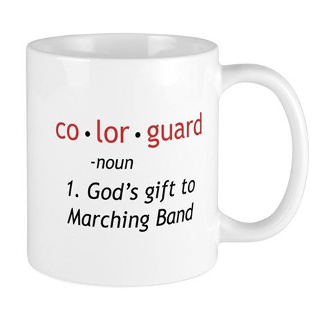 Definition of Colorguard Mug