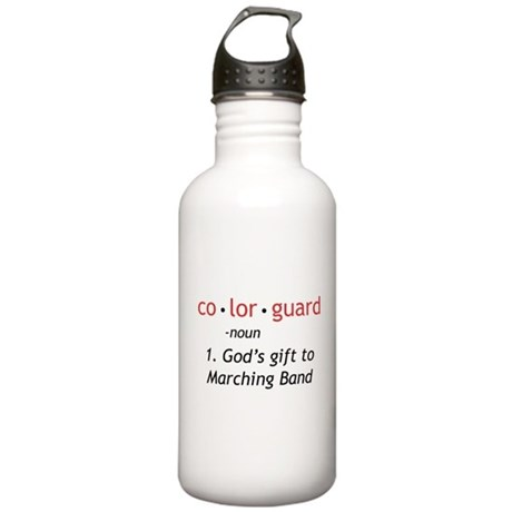 Definition of Colorguard Stainless Water Bottle 1.