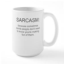 sarcasm Ceramic Mugs