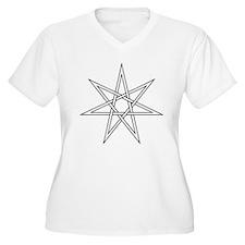 7-Pointed Star Symbol T-Shirt