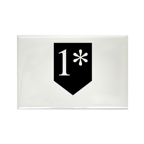 One Asterisk Rectangle Magnet (100 pack)