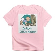 Daddy's Little Helper (Comput Infant T-Shirt