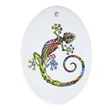 ART GECKO - Ornament (Oval)