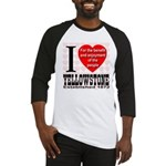 I Love Yellowstone Establishe Baseball Jersey