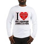I Love Yellowstone Establishe Long Sleeve T-Shirt