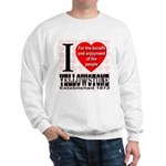 I Love Yellowstone Establishe Sweatshirt