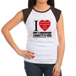I Love Yellowstone Establishe Women's Cap Sleeve T