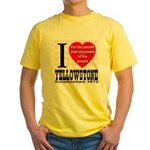 I Love Yellowstone Establishe Yellow T-Shirt