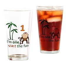 Monkey Fun One Pint Glass