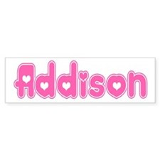 """Addison"" Bumper Bumper Sticker"